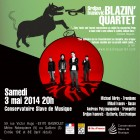 Nijmegen, Paris, Tilburg – Upcoming shows with BLAZIN' QUARTET