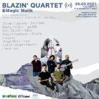 Blazin' Quartet – Sleeping Beauty album release concert is coming in streaming March 26!